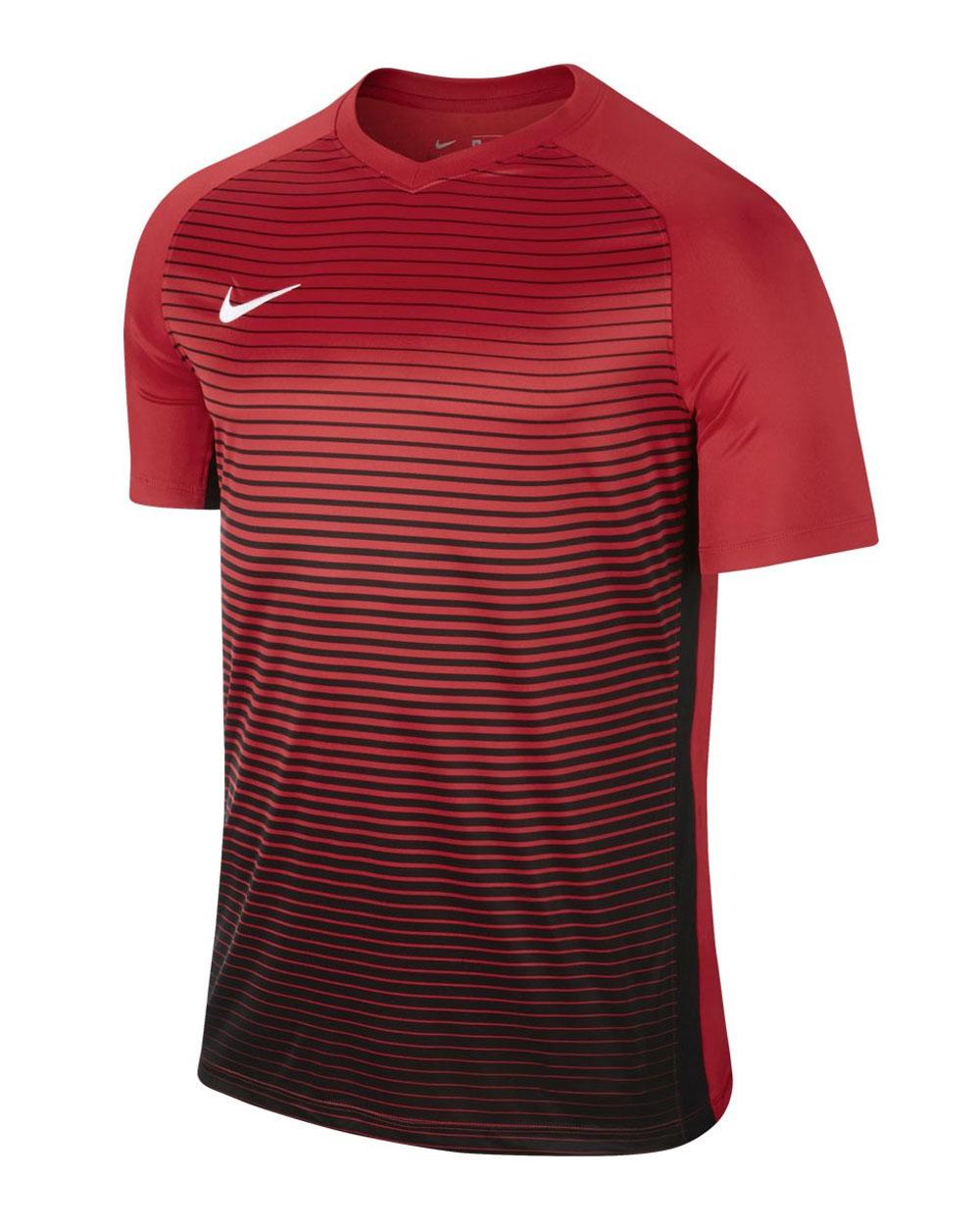 calidad autentica precio de fábrica venta de bajo precio CAMISETA NIKE FUTBOL PRECISION IV ROJA Y NEGRA - - Camisetas