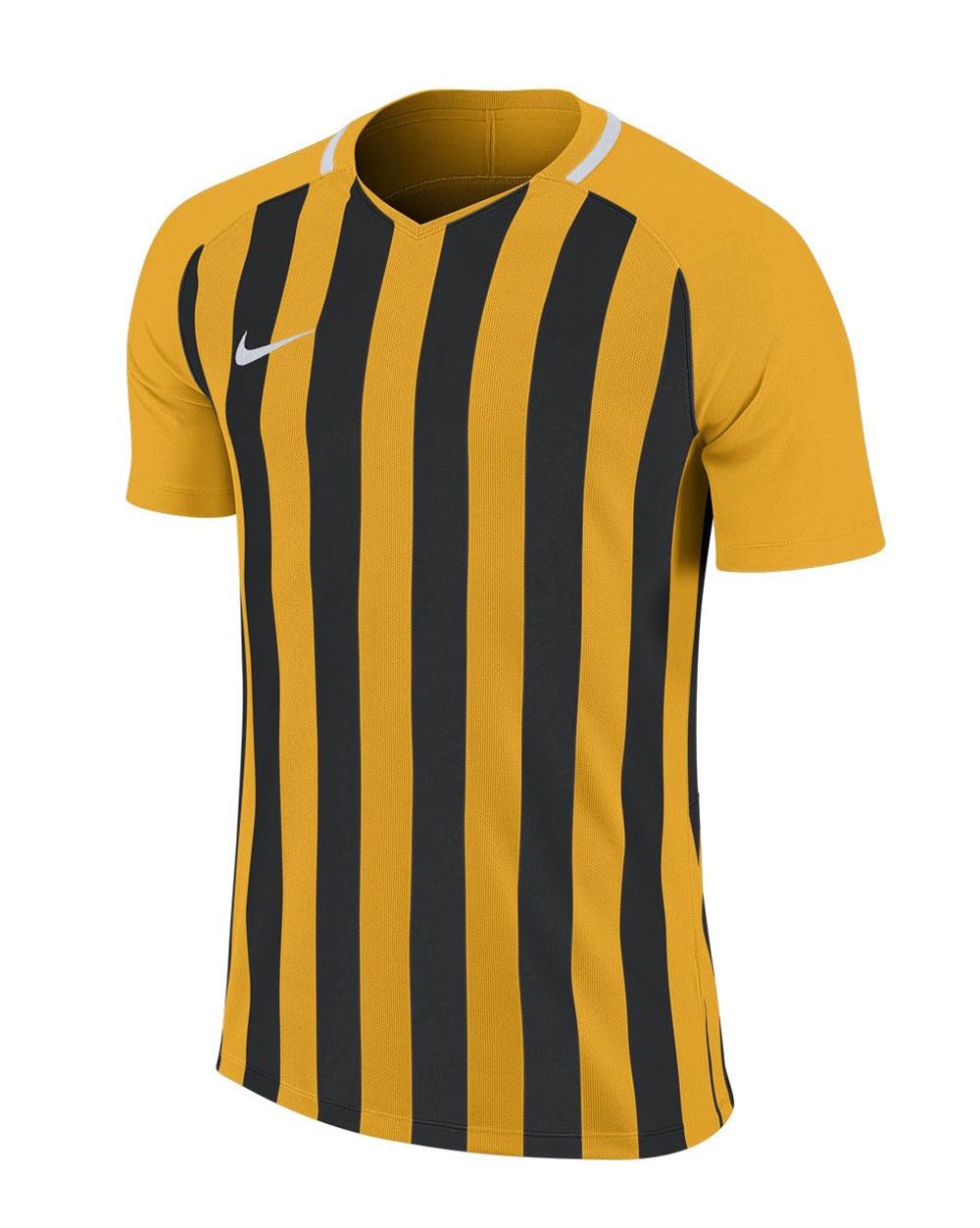Negra Amarilla Y Iii Camisetas Striped Futbol Camiseta Division Nike lKcT13JF