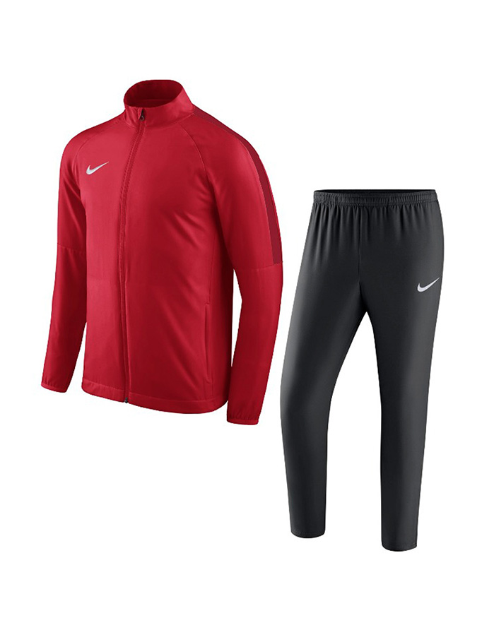 NIKE ACADEMY 18 TRACKSUIT RED/BLACK/GYM 0