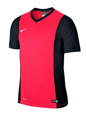 Camiseta Nike Park Derby - Pink Fluor and Black