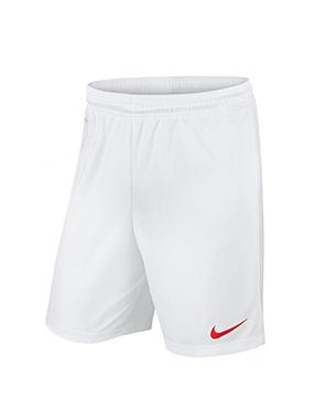 Short Nike Futbol PARK KNIT II Blanco/Rojo