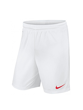 Short Futbol Nike PARK KNIT II Blanco