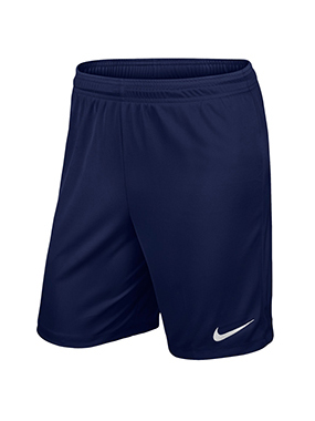 SHORT futbol NIKE PARK KNIT II AZUL OSCURO - Midnight Navy