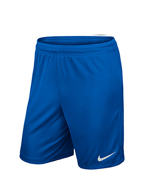 SHORT futbol NIKE PARK KNIT II AZUL OSCURO - Royal Blue