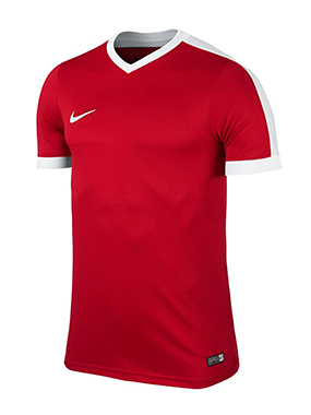 CAMISETA NIKE STRIKER IV BLANCA - White & Red