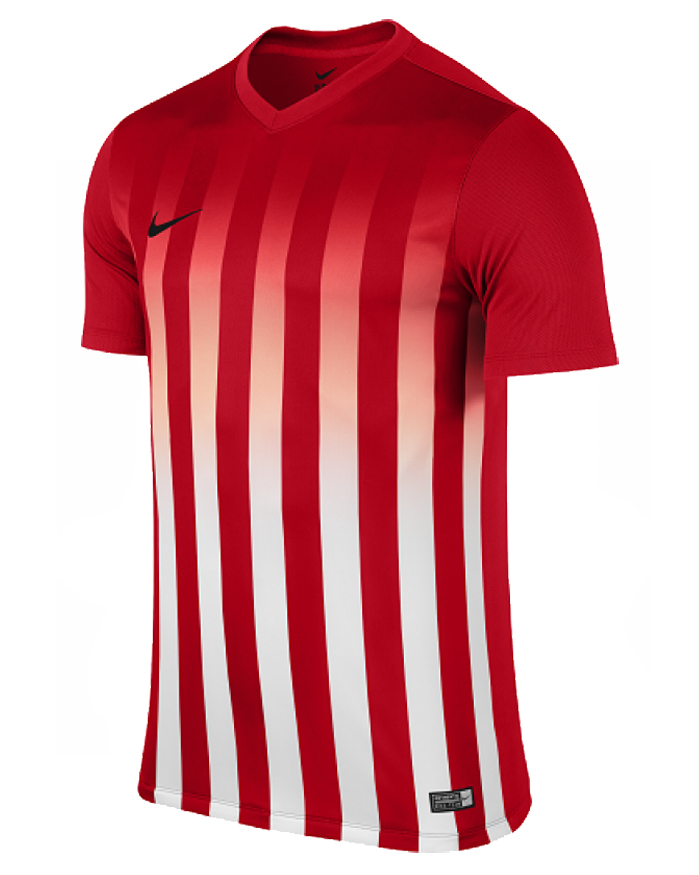 CAMISETA NIKE SS STRIPED DIVISION II AZUL/BLANCO - White & Red