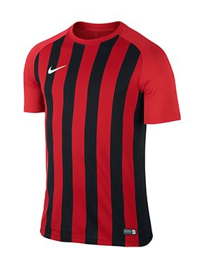 CAMISETA NIKE STRIPED SEGMENT III ROJA/NEGRA - White & Red