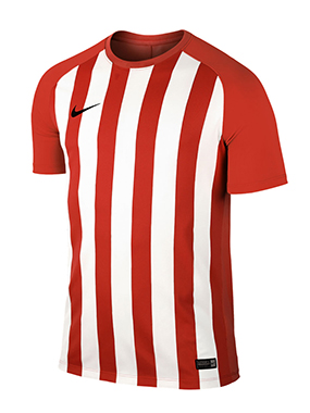 CAMISETA NIKE STRIPED SEGMENT III ROJA/NEGRA - Scarlet and White