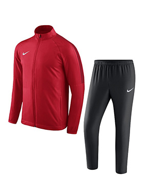 NIKE ACADEMY 18 TRACKSUIT RED/BLACK/GYM