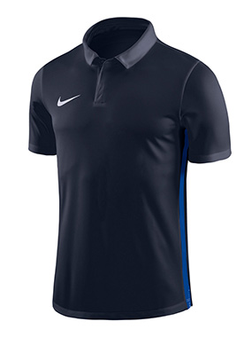 NIKE ACADEMY 18 PERFORMANCE POLO BLACK/BLUE