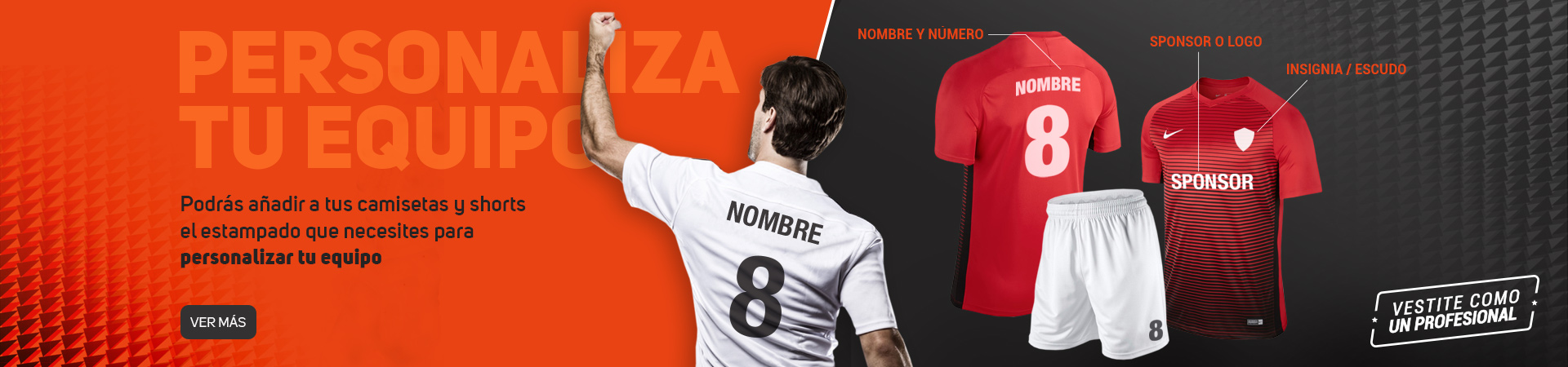 9652859b1 The Futbol Store - Camisetas de fútbol Nike y Adidas desde  339